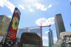 Casinos en Las Vegas fotografía de archivo libre de regalías