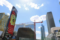 casinos Las Vegas Photographie stock libre de droits