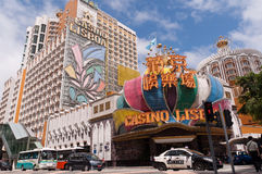 Casinos in Macau Stock Photos