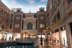 Casinos in Macau - venice Royalty Free Stock Image