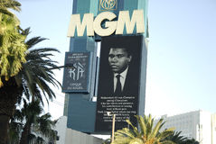 CASINOS PAY TRIBUTE TO MUHAMMAD ALI LEGEND. Los Vegas/Nevada /USA- 04 June 2016_  Various casino paying tribute to Late  Muhammad Ali legend boxer have pic Stock Images