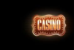 Casinoteken royalty-vrije illustratie