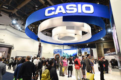 CASIO at CES 2016 Royalty Free Stock Images