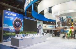 Casio Exhibit at CES 2017 Stock Photos