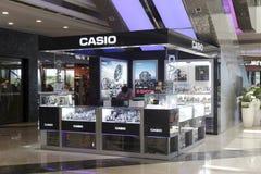 Casio passt entgegengesetzt auf Lizenzfreies Stockfoto