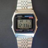 Casio-Uhr Lizenzfreies Stockbild