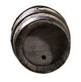 cask деревянный стоковая фотография rf