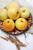 Cask apples Royalty Free Stock Photography