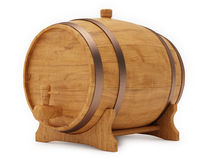 Cask Beer Royalty Free Stock Images