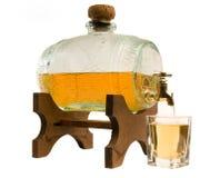 Cask of liquor Royalty Free Stock Photos