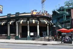 Cask n Flagon. Famous Cask n Flagon, across the street from historic Fenway Park, Boston, MA Royalty Free Stock Photos