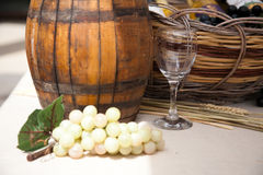 Cask wine Stock Images