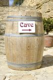 Cask of wine cellar Royalty Free Stock Photo
