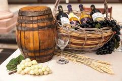 Cask wine Stock Image