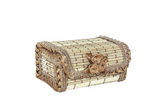 Casket from the bark Royalty Free Stock Photography