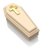 The casket Stock Photography