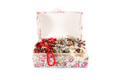 Casket of jewels Royalty Free Stock Photo
