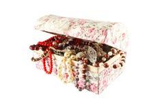 Casket of jewels Stock Image
