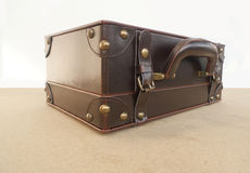 Casket  leather Stock Images