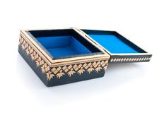 Casket for storage of jewelry Stock Images