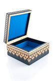 Casket for storage of jewelry Stock Photo