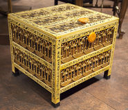 Casket from the tomb of Tutankhamen Royalty Free Stock Photography