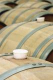 Casks вина стоковые изображения rf