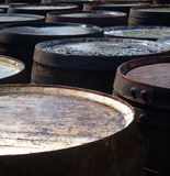 Casks and Barrels Stock Photo