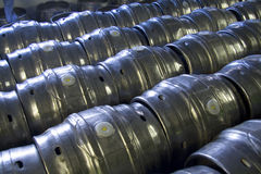 Casks of beer royalty free stock image