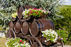 Casks in Fuisse Royalty Free Stock Images