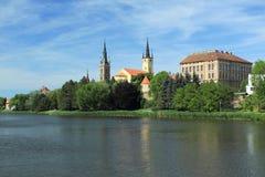 Caslav-Landschaft Lizenzfreie Stockfotos