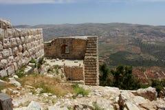 Casle di Ajloun fotografia stock