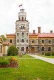 Casle en Sigulda latvia Imagen de archivo libre de regalías