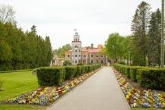 Casle en Sigulda latvia Imagenes de archivo