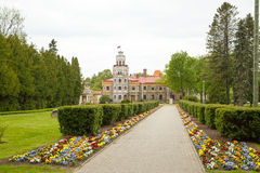 Casle in Sigulda. Latvia. This is one of Sigulda's castles. Still is ok Stock Images