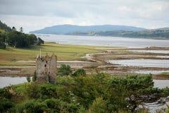 Castle Stalker Scotland Royalty Free Stock Photo