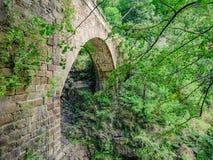Casletto-Brücke in Val Grande National Park Lizenzfreie Stockfotografie