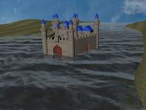 Caslte воды Стоковая Фотография RF