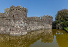 Caslte moat Royalty Free Stock Images