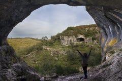 Casmilo scava la valle, Coimbra, Portogallo Fotografie Stock