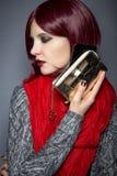 Caso alla moda del telefono cellulare Immagine Stock