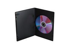 Caso de DVD Imagen de archivo libre de regalías