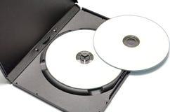 Caso de Dvd Imágenes de archivo libres de regalías