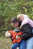 Caso de família Fotos de Stock Royalty Free