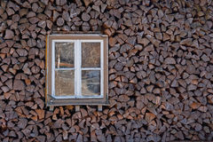 Caso de madera Foto de archivo