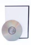 Caso del DVD y del DVD Imagenes de archivo