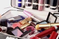 Caso del maquillaje Imágenes de archivo libres de regalías