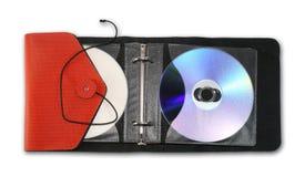 Caso di CD/DVD Immagine Stock