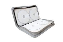 Caso di CD/DVD Immagine Stock Libera da Diritti