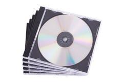 Caso di DVD Immagini Stock